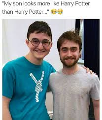 Harry Potter Funny Memes - harry potter look a like vs real funny meme funny memes