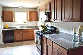Kitchen Backsplash Cherry Cabinets by 100 Kitchen Backsplash With Dark Cabinets Black Backsplash