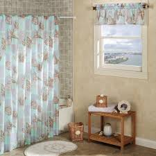 marvelous beach shower curtain seahorse shower curtain patterns