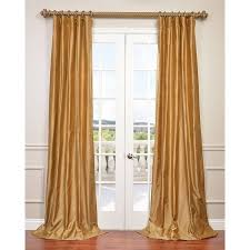 Overstock Drapes Exclusive Fabrics Dupioni Silk Curtain Drapes Free Shipping