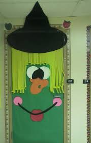 9 best halloween door crafts images on pinterest decorated doors