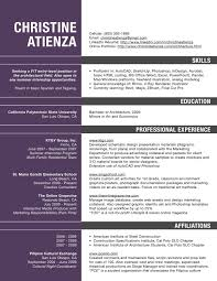 tips for your thin resume presentable architecture resume pdf resume for architects professionals