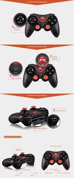 android joystick s3 wireless bluetooth 3 0 gamepad gaming controller for