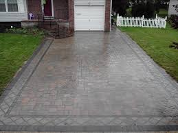 decorating amazing paver by cambridge pavers towards the garage