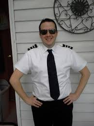 pilot halloween costumes diy captain u0027s shirt airline pilot or police chief with