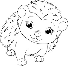 baby dinosaur coloring page hedgehog colouring pages for toddler