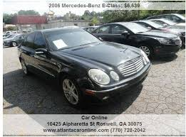 mercedes roswell ga 2006 mercedes e class e 350 4dr sedan in roswell ga car