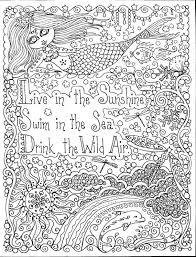 25 mermaid coloring pages adults images