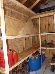 Building Wood Shelves In Shed by Build Your Own Storage Shed 12 Steps With Pictures