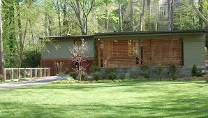 mid century modern renovation midcentury exterior atlanta