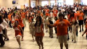 spirit halloween laredo tx let u0027s move dance at united high in laredo texas youtube