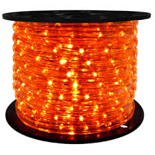 151 roll orange rope lightluminous led lighting