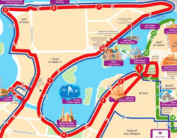 printable abu dhabi road map abu dhabi road map pdf city sightseeing sharjah bus route map 640 x