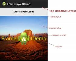 layout manager tutorialspoint android frame layout