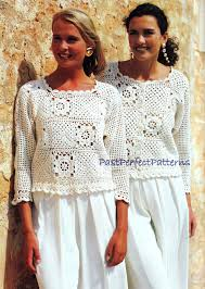 Vintage Crochet Pattern Pdf Fashion by Instant Download Pdf Vintage Crochet Pattern Granny Square Tops