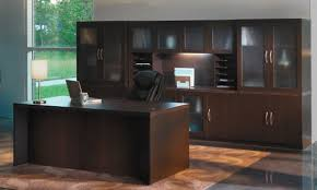 Executive Desk With Hutch Mayline At35 Executive Desk With Hutch And Storage