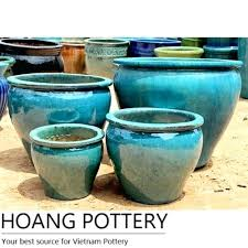 glazed ceramic pots garden ceramic pot belly planter big garden pots cheap