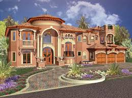 mediterranean style house plans with photos mediterranean house plan 5 bedrooms 6 bath 6679 sq ft plan 37 191