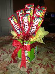 skittles candy bouquet diy gifts pinterest candy bouquet