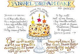 blueberry angel cake susan branch blog
