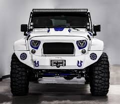 jeep army star stormtrooper jeep wrangler unlimited sport has custom body kit