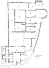 Floor Plan Of The House Regio Iii Insula Ix Domus Dei Dioscuri Iii Ix 1
