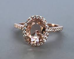 morganite ring etsy