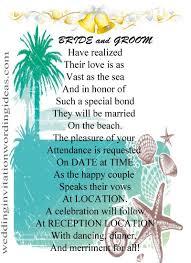 Stunning Hindu Wedding Invitation Wordings Beach Wedding Invitation Wording Haskovo Me