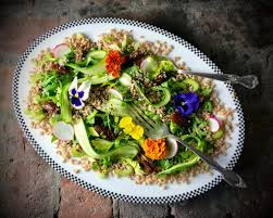 Salad With Edible Flowers - edible flowers archives taste with the eyes