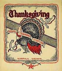 naval station norfolk virginia 1945 thanksgiving dinner