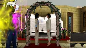 wedding arches in sims 3 sims3 secret society sims 3 how to throw the wedding
