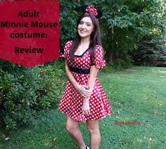 Minnie Mouse Womens Halloween Costume Tattooed Blogger Minnie Mouse Costume Review