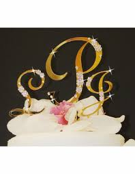 wedding cake toppers letters monogram wedding cake toppers advantagebridal