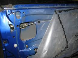 vz removing replacing door actuator and mechanism just commodores