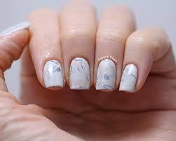 water marble nail art on real nails image collections nail art