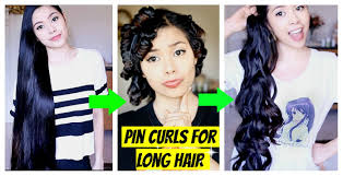 no heat pin curls tested on extra long hair does it work my