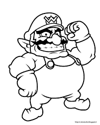 coloring pages of mario characters wario coloring pages to print pubblicato da steve land a 18 59