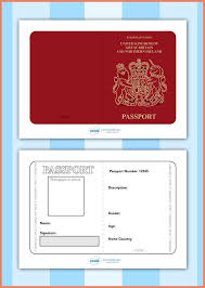 Resume Bio Example Fake Passport Template Resume Bio Example
