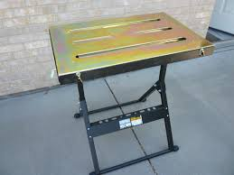 Folding Welding Table Harbor Freight Welding Table Review Shop Floor Talk