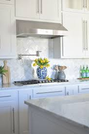 Kitchen Cabinets Photos Ideas Tiles Backsplash Blue And White Nuance Idea With Kitchens Glass