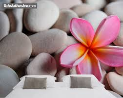 stones and flowers wall murals stones and flowers