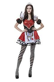 Queen Halloween Costume Honeystore Women U0027s Heart Playing Card Queen Halloween