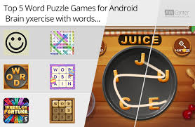 android puzzle top 5 word puzzle for android brain exercise with words