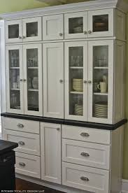 Kitchen Hutch Furniture A Built In Kitchen Hutch Kitchen Vitality Design