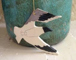 seagull ornament etsy