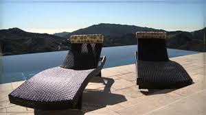 portofino signature loungers u0026raquo patio furniture video gallery