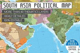 asia east map map of south asia and near east illustrations creative market