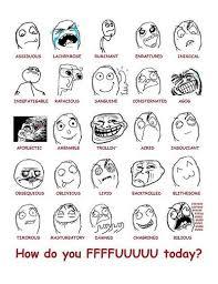 Cartoon Meme Faces - all troll meme faces including forever alone trollface fuck