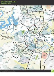 Dc Neighborhood Map Greater Austin Zip Code Map More Maps Pinterest Zip Code Map