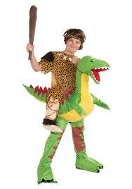 caveman halloween costume child ride a dinosaur costume haloween costumes pinterest